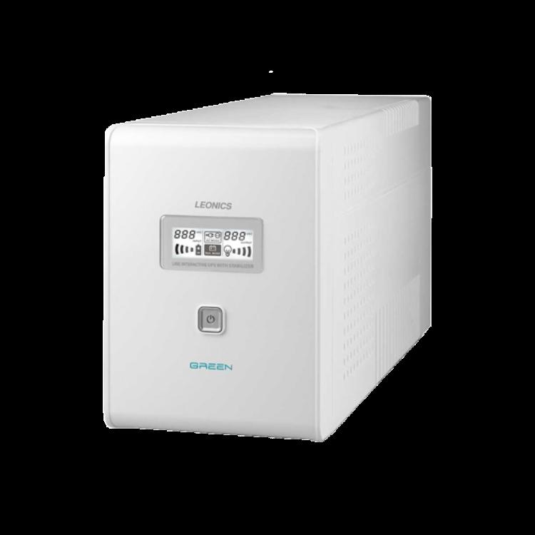 """Picture of LEONICS UPS Green-1600V 1600VA/800W เครื่องสำรองไฟ ใช้กับคอมพิวเตอร์และจอ 17"""" 1-3 ชุด รับประกัน 2 ปี"""