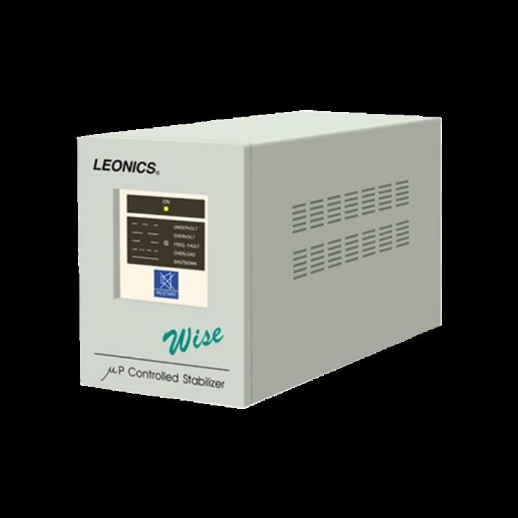 Picture of LEONICS Wise 1000 1000VA/1000W STABILIZER เครื่องปรับแรงดันไฟฟ้า รับประกัน 2 ปี  (รักษาระดับแรงดันแต่ไม่สำรองไฟ)