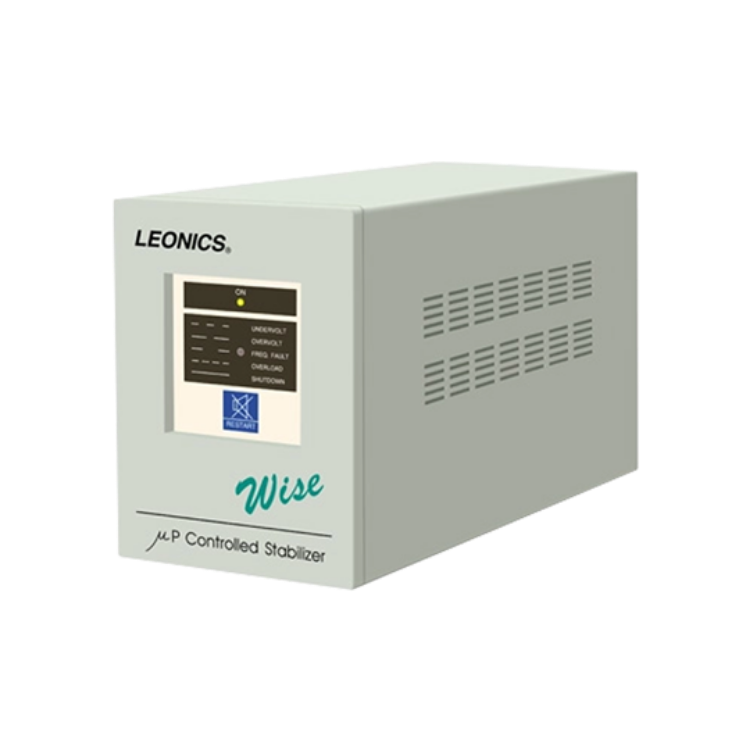 Picture of LEONICS Wise 500 500VA/500W STABILIZER เครื่องปรับแรงดันไฟฟ้า รับประกัน 2 ปี  (รักษาระดับแรงดันแต่ไม่สำรองไฟ)