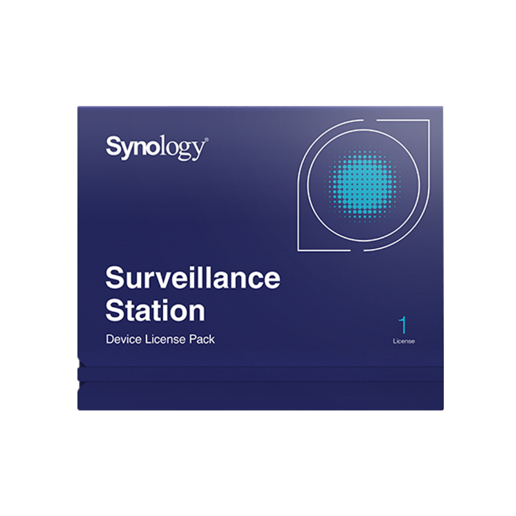 Picture of SYNOLOGY Surveillance License Pack 1 ใบอนุญาตกล้อง (PN:LIC-SYN-SURVPACK1)