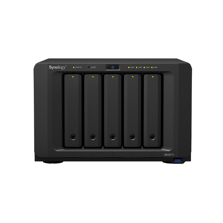 Picture of SYNOLOGY DiskStation DS1517+ 2GB (PN:NAS-SYN-DS1517P2GB)