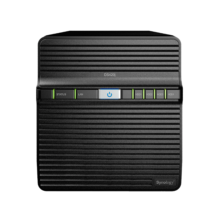 Picture of SYNOLOGY DiskStation DS420J 1GB (PN:NAS-SYN-DS420jxxx)