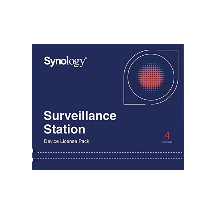 Picture of SYNOLOGY Surveillance License Pack 4 ใบอนุญาตกล้อง (PN:NAS-SYN-LICENCE4X)