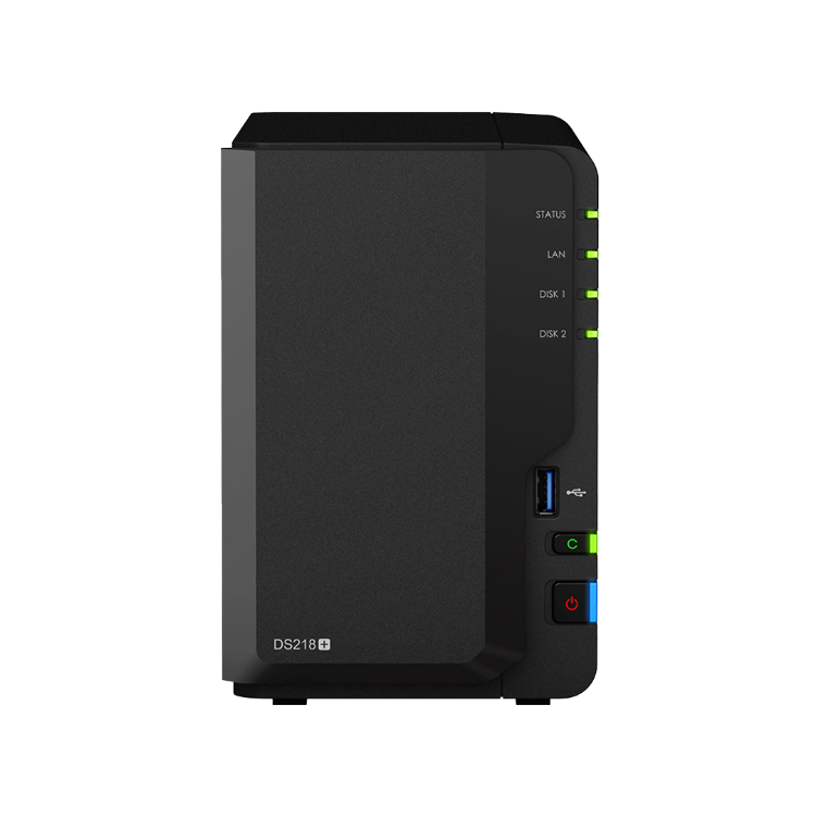 Picture of SYNOLOGY DiskStation DS218+ 2GB (PN:NAS-SYN-XXDS218+)