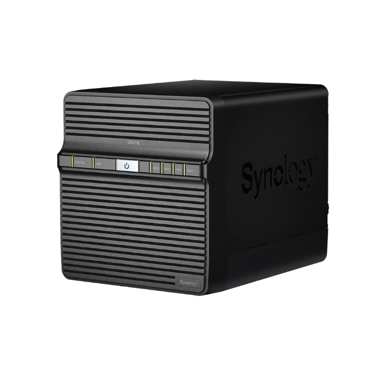 Picture of SYNOLOGY DiskStation DS418J 1GB (PN:NAS-SYN-XXXDS418J)