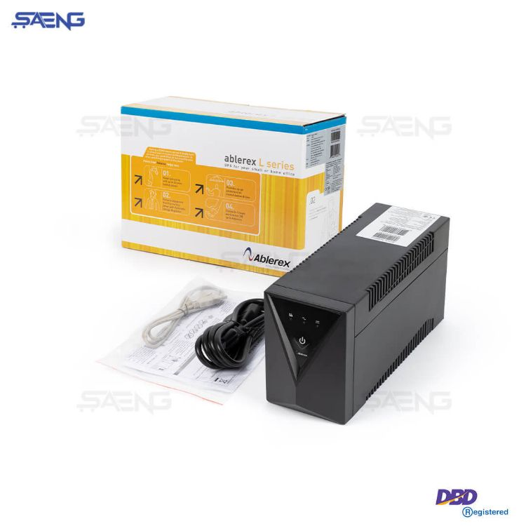 Picture of ABLEREX 650LS 650va/360w with LED display เครื่องสำรองไฟ