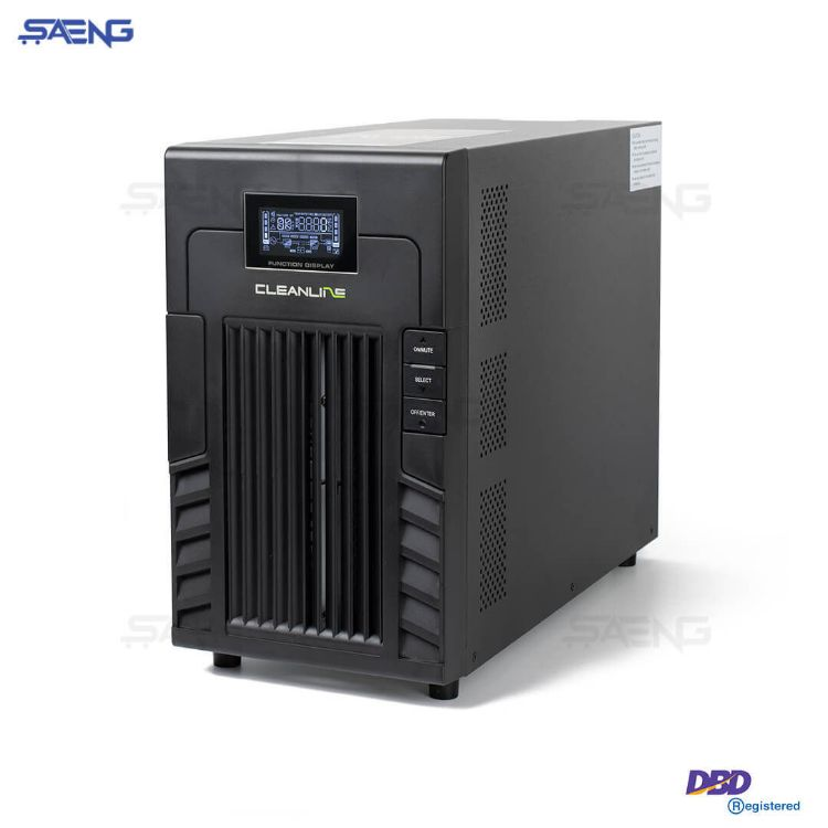 Picture of CLEANLINE UPS PS-3000 3000VA/2100W 9.54A PS Series เครื่องสำรองไฟ