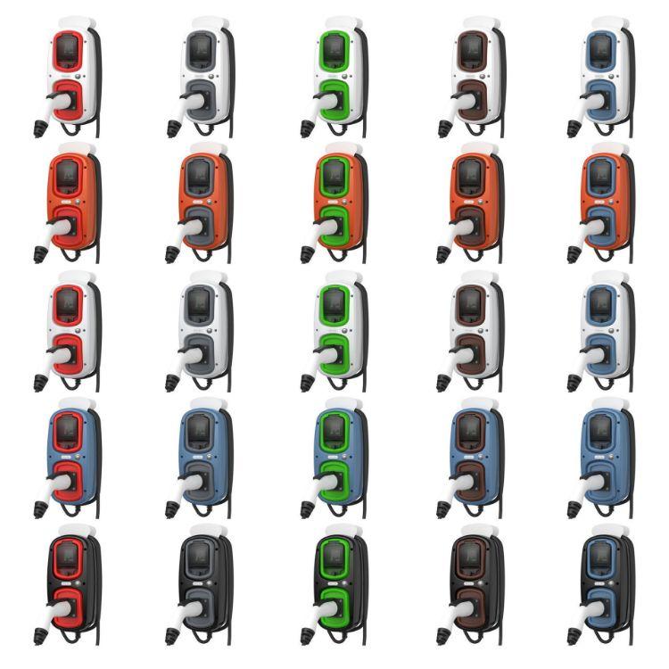 เครื่องชาร์ตไฟ รถ EV PHEV  WALLPOD : EV CHARGING UNIT | TYPE 2 TETHERED | 32 AMP(7.2KW) |10 METRE | IP65 | (รวมติดตั้งสายไม่เกิน 20เมตร)