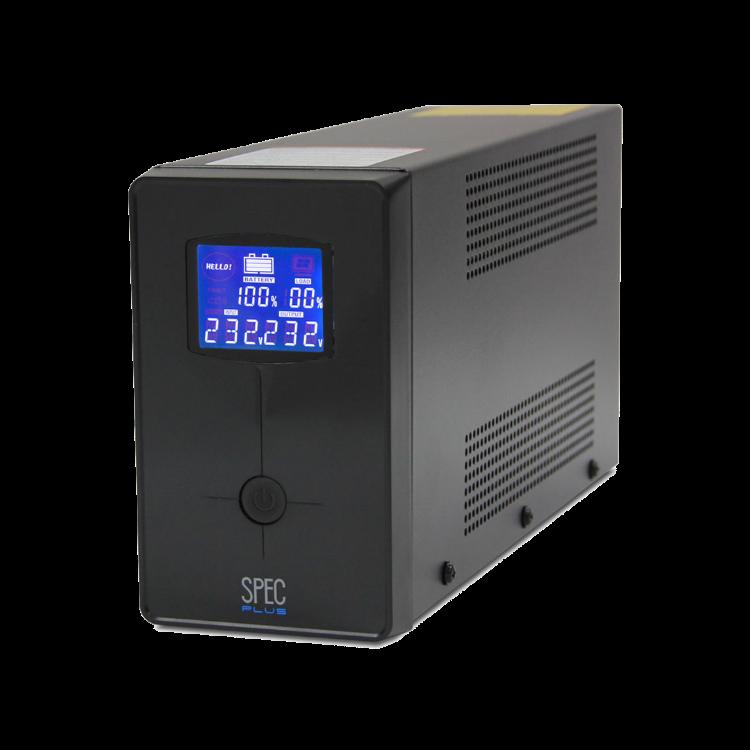 Picture of LEONICS UPS SPEC-1000V Plus 1000VA/400W เครื่องสำรองไฟ รับประกัน 2 ปี Line Interactive with Stabilizer