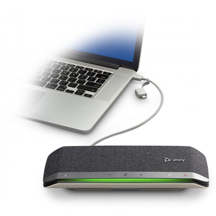 Picture of POLY SYNC 40 USB-A/USB-C Microsoft Smart Speakerphone (PN:216875-01)