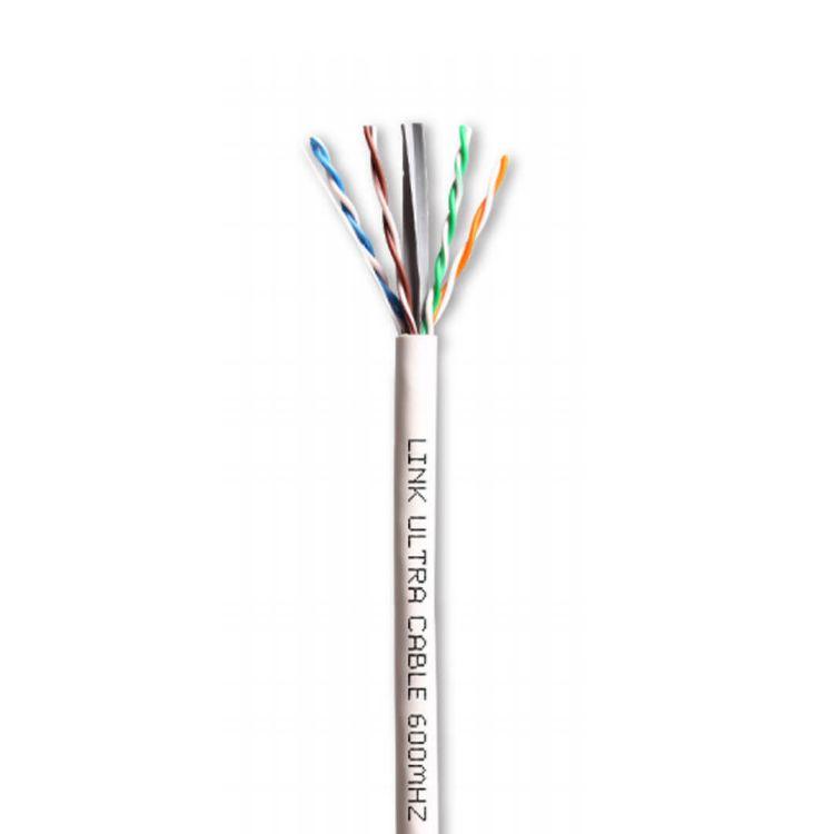 Picture of LINK US-9116 CAT6 UTP ULTRA (600 MHz) w/Cross Filler, 23 AWG, CMR สำหรับระบบเครือข่ายแบบสาย (LAN) ภายในบ้านหรือสำนักงาน