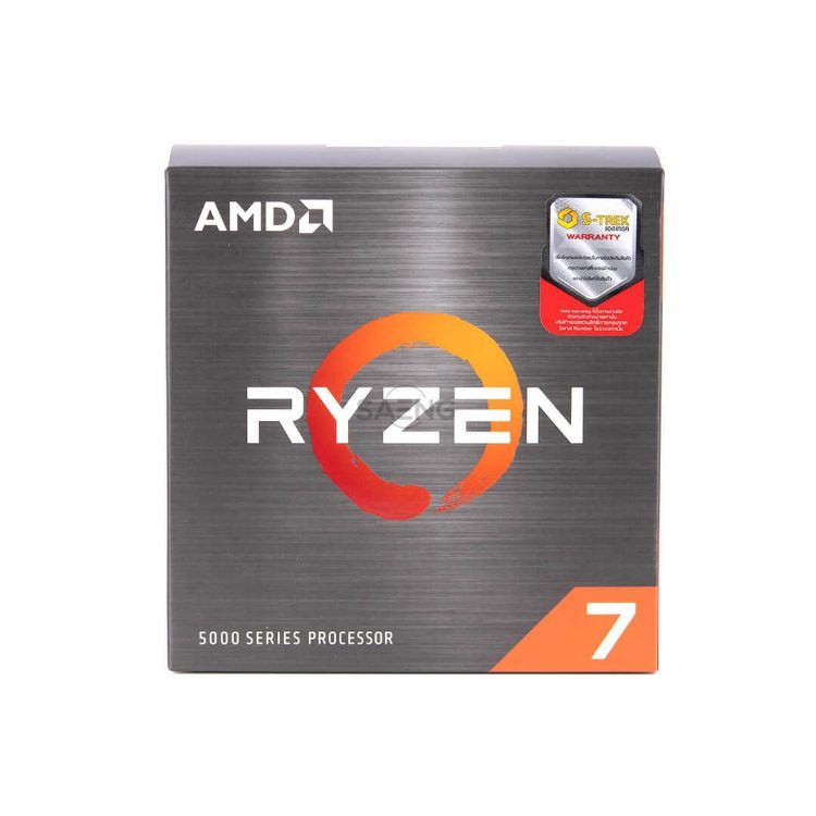 Picture of AMD Ryzen 7 5800X CPU (ซีพียู) 3.8 GHZ 8C | 16T