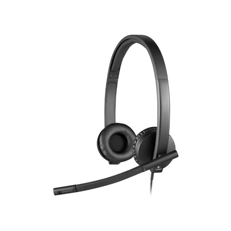 Picture of Logitech USB Headset Stereo H570e (PN:981-000574)