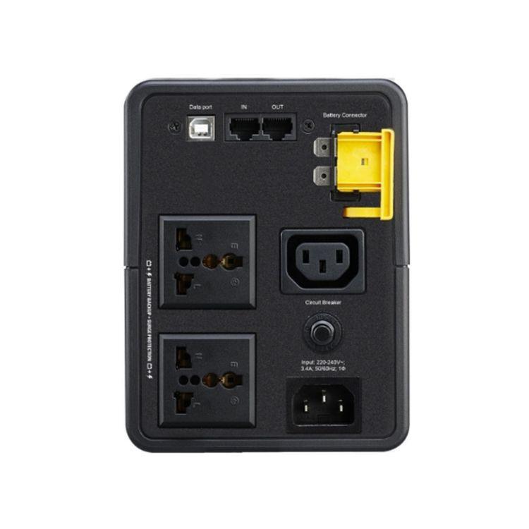 Picture of APC BX2200MI-MS back-UPS 2200VA, 1.2 watt 230V, AVR, Universal Sockets