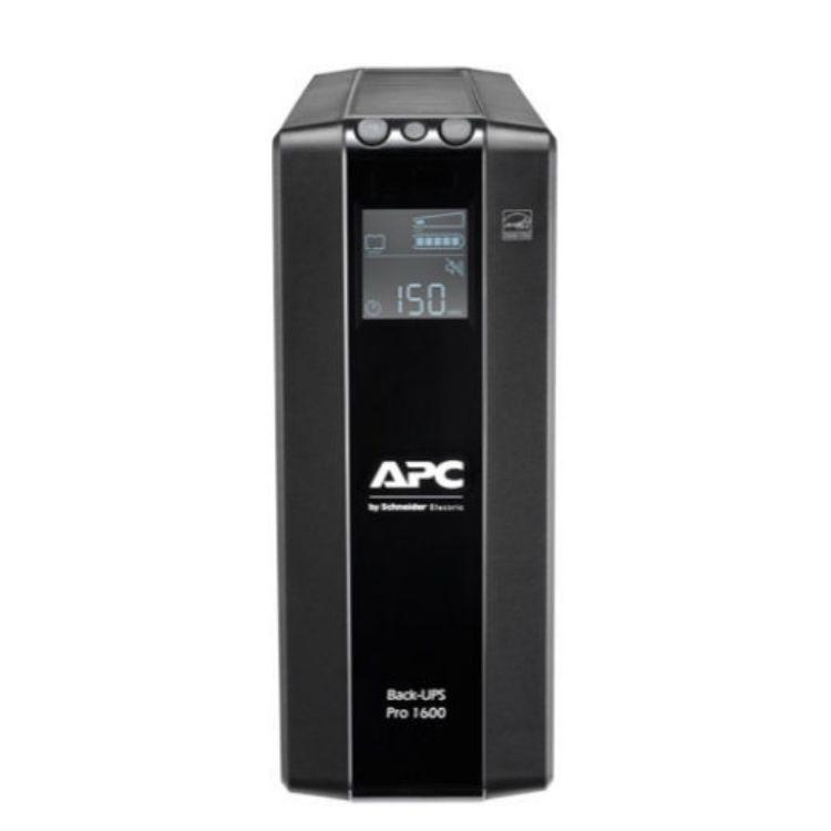 Picture of APC BR1600MI Back UPS Pro BR 1600VA, 960Watt 8 Outlets, AVR, LCD Interface