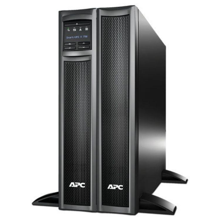 Picture of APC SMX750I Smart-UPS. APC Smart-UPS X 750VA 600Watt Rack/Tower LCD 230V