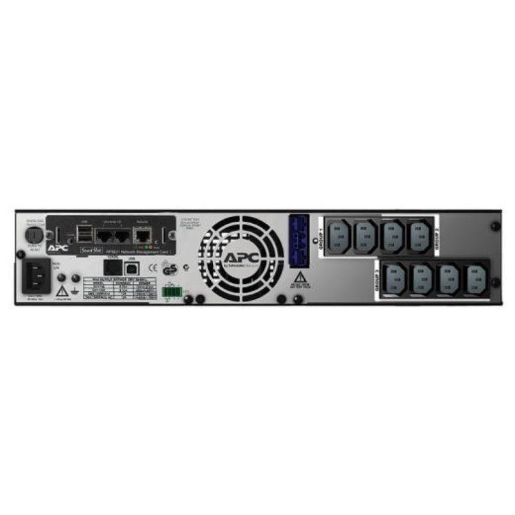 Picture of APC SMX1500RMI2UNC Smart-UPS X 1500VA Rack/Tower 1200 Watt LCD 230V with Network Card