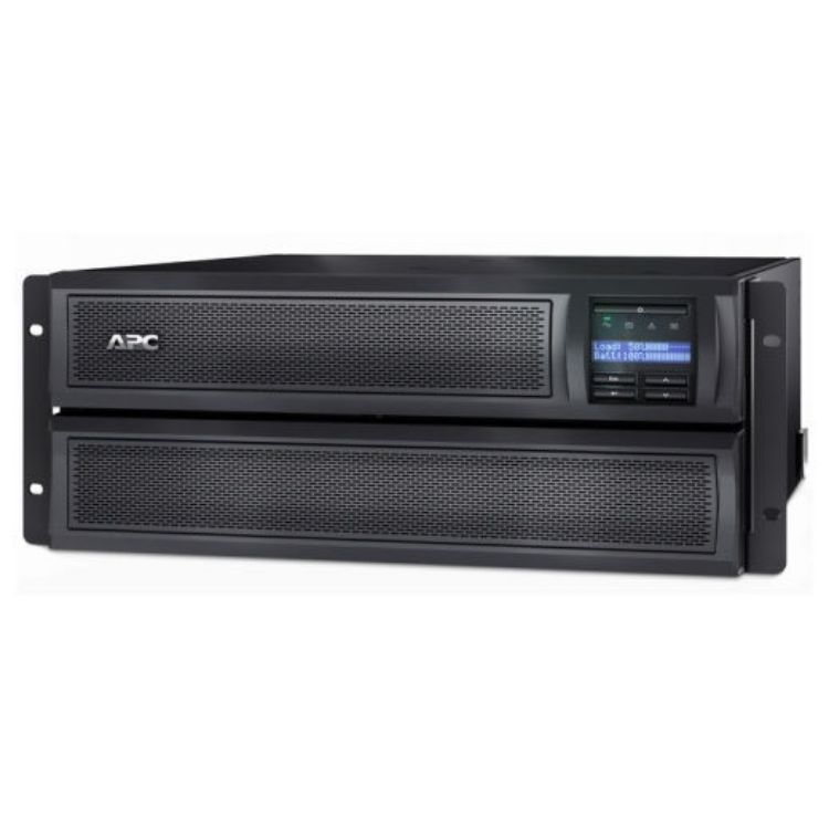 Picture of APC SMX3000HVNC Smart-UPS X 3000VA/2700 Watt Short Depth Tower/Rack Convertible LCD 200-240V with Network Card