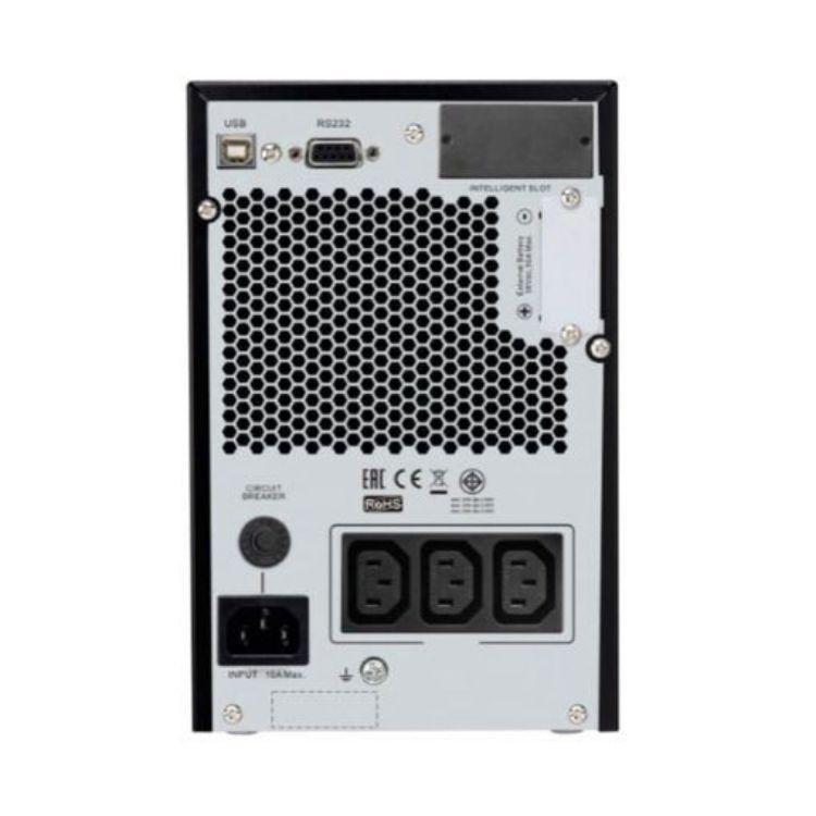 Picture of APC SRV1KIL Easy UPS On-Line SRV Ext. Runtime 1000VA 230V/800watt  Tower with External Battery Pack ( Tower  เพิ่ม battery pack ได้ สูงสุด  4 pack )