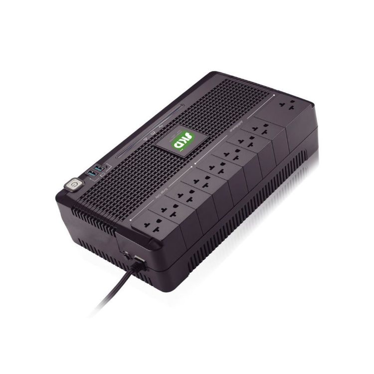 Picture of SKD UPS Protech-1000 (G2) 1000VA/600W 9.6Ah เครื่องสำรองไฟ (PN: UPS-SKD-PROTEC1000600/G2)