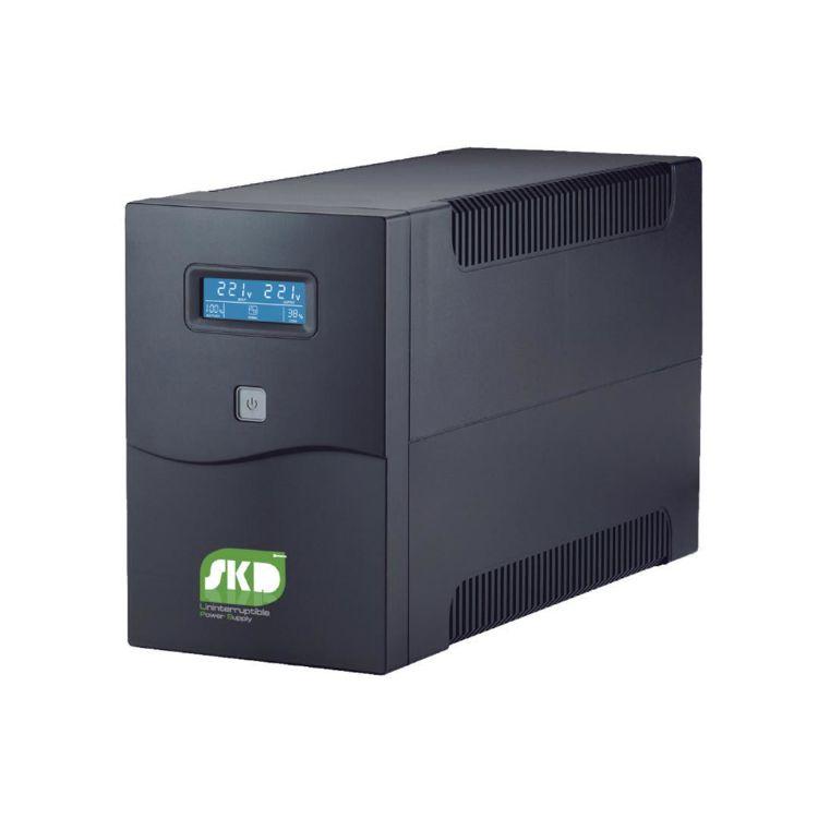 Picture of SKD UPS LCD-2000 2000VA/1200W 9Ah เครื่องสำรองไฟ (PN:UPS-SKD-LCD2000/1200)