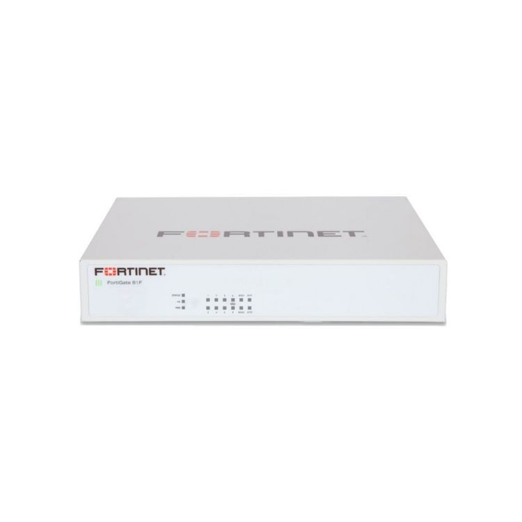 Picture of Fortinet FortiGATE 81F Box with MA 1 Year (24*7) (PN:FG-81F)  +  Renewal MA 1 YR Unified Threat Protection License (UTP)
