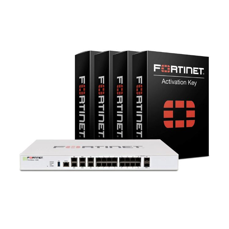 Picture of Fortinet FortiGATE 100E Box with MA 5 Year (24*7) (PN:FG-100E)+ Renewal MA 5 YR Unified Threat Protection License (UTP)