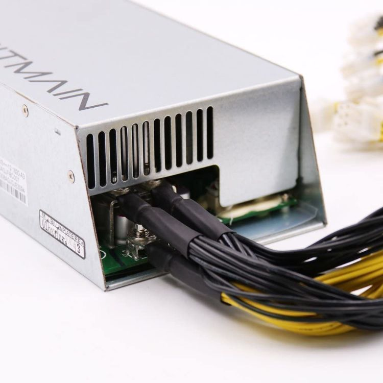 Picture of (New) Bitmain Antminer Power Supply APW7 PSU 1800w 110v 220v Much Better Than APW3++ for S9 or L3+ or Z9 Mini or D3 w/ 10 Connectors