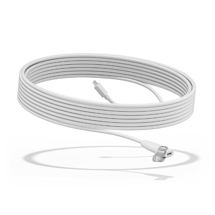 Picture of LOGITECHRally Mic Pod Extension cable (Off-White) 10 meter extension cable (PN:952-000047)