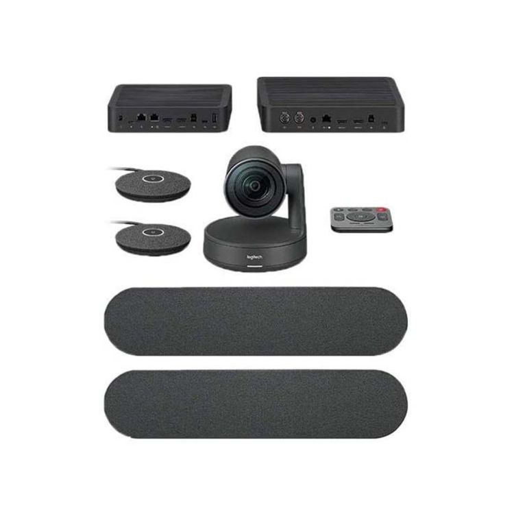 Picture of LOGITECH Rally System Plus (Incl, 2 spkr 2 mic) (PN:960-001225) Conference Camera SET