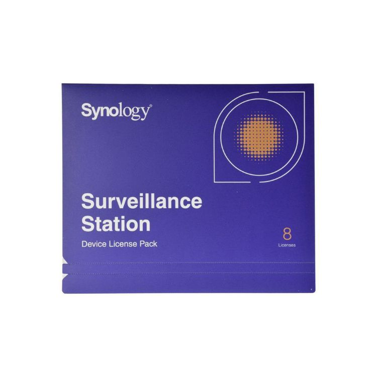 Picture of SYNOLOGY Surveillance License Pack 8 ใบอนุญาตกล้อง (PN:NAS-SYN-LICENCE8X)