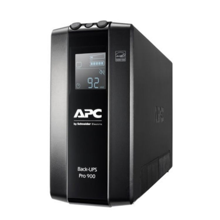 Picture of APC Back UPS Pro BR 900VA, 6 Outlets, AVR, LCD Interface (PN:BR900MI)