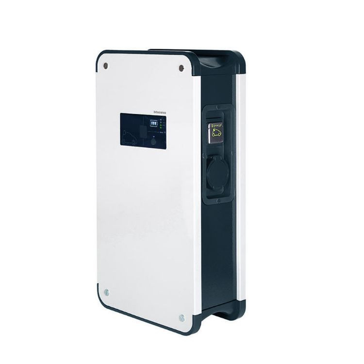 Picture of LEGRAND - Green'up Premium metal single-phase charging station - IP55 - IK10 - mode 2 and 3 - 7,4 kW - 32 A - for 1 vehicle