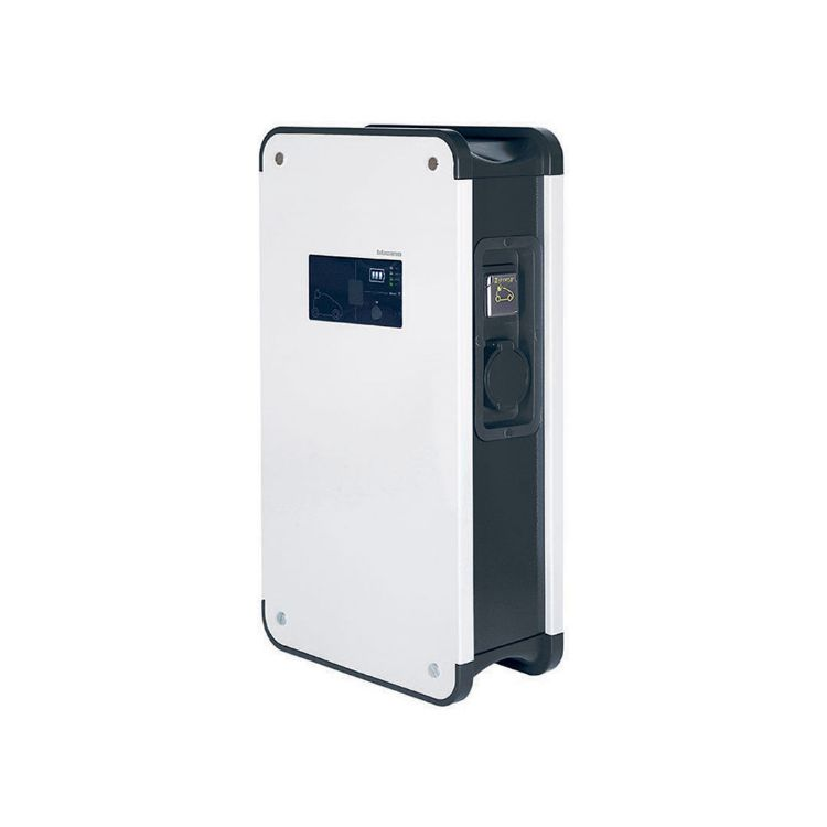 Picture of LEGRAND - Green'up Premium metal three-phase charging station - IP55 - IK10 - mode 2 and 3 - 22 kW - 32 A - for 2 vehicles